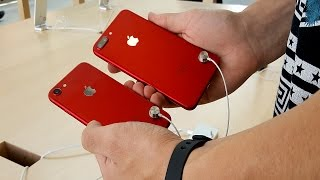 RED iPhone 7 and iPhone 7 Plus First Look!