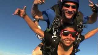 My Skydive Experience - 08/12/2012