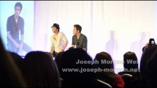 Fighting with Paul Wesley at Bloody Night Con 2
