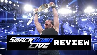 WWE Smackdown Live 1/3/2017 Review | DEAN AMBROSE NEW IC CHAMPION