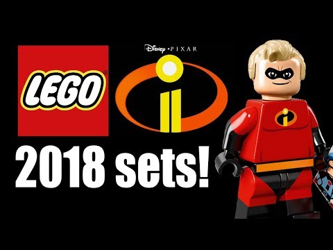 LEGO Incredibles 2 sets coming in 2018!
