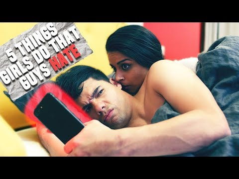 5 Things Girls Do That Guys HATE! (ft. Lilly Singh)   D-trix