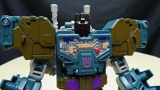 Generations Combiner Wars Voyager ONSLAUGHT: EmGo's Transformers Reviews N' Stuff