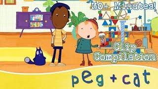 Peg + Cat -  The Problem Solvers (30 Minutes)
