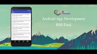 Android Studio Tutorial - RSS Reader