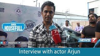 Interview with actor Arjun | Nibunan | Arjun | Prasanna | 150th Movie