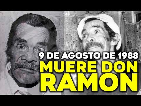 09 DE AGOSTO DE 1988 MUERE RAMON VALDES DON RAMON