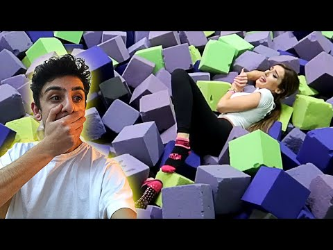 Xxx Mp4 Molly ACTUALLY GOT INJURED By Doing This TRAMPOLINE PARK DARES 3gp Sex
