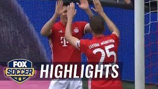 Bayern Munich vs. Augsburg | 2016-17 Bundesliga Highlights