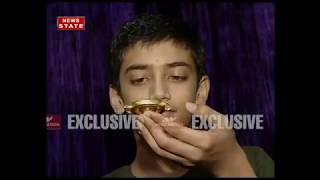 Child actor Rudra soni love for fidget spinners