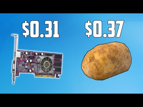 This Graphics Card Actually Cost Me Less Than a Potato