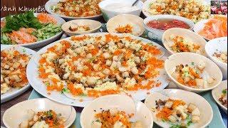 Món Chay - Ngon tuyệt vời cách pha Bột thứ 2 đổ Bánh Bèo chén có Xoáy by Vanh Khuyen