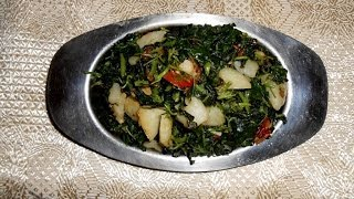 Easy to make Green Saag recipe