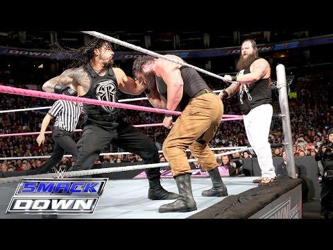 Xxx Mp4 Roman Reigns Randy Orton Vs Bray Wyatt Braun Strowman SmackDown Oct 8 2015 3gp Sex