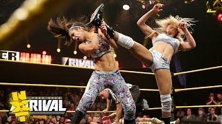 Charlotte vs. Bayley vs. Sasha Banks vs. Becky Lynch: NXT TakeOver: Rival, Feb. 11, 2015