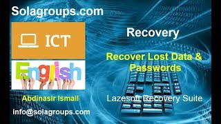 Recover Lost Data and Forgotten Passwords