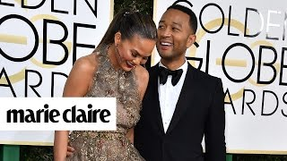 8 of the Cutest Couples on the Golden Globes Red Carpet | Marie Claire