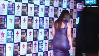 Neetu Chandra hot big bum exposed at star screen awards