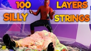 100 LAYERS OF SILLY STRING! | Office Antics