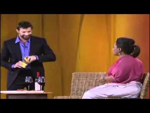 Oprah Tries Vegemite