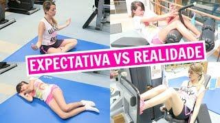 EXPECTATIVA VS. REALIDADE - FITNESS