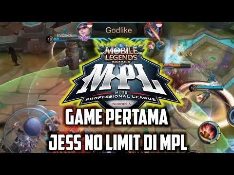 GAME PERTAMA JESS NO LIMIT DI MPL