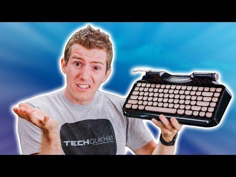 This AWFUL Typewriter Keyboard Raised 350K