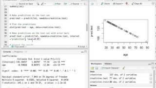 R walkthrough: parameter and prediction uncertainty in simple regression models