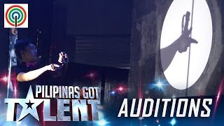 Pilipinas Got Talent Season 5 Auditions: Shadow Ace - Shadow Play Performer