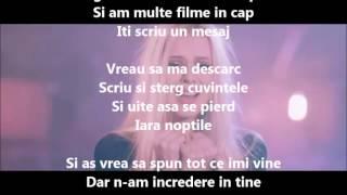 Sandra N - N-am baut nimic  Versuri (Lyrics)