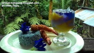 Manfaat Menakjubkan dan Cara Penyajian Bunga Telang (Clitoria Ternatea) Butterfly pea flower