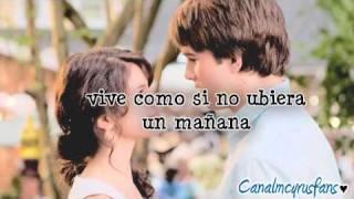 Live Like There's No Tomorrow - Selena Gomez (Español)