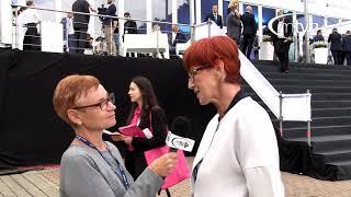 TV Minister Eżbieta Rafalska XVIII Forum Ekonomiczne