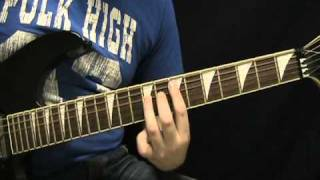 Guitar Lesson - Fear of the Dark by Iron Maiden - How to Play Fear of the Dark Tutorial