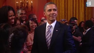 Zum Obama-Abschied: Barack, wie er singt und lacht