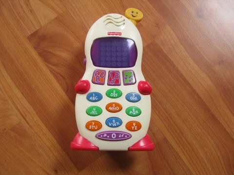 Fisher Price French Laugh & Learn Learning Phone Interactive Toy