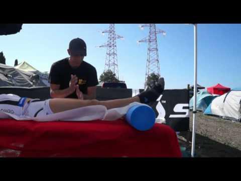 Dimostrazione Massaggio Sportivo pre gara