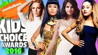 Kids Choice Awards 2016 | Nominees for Favorite Female Singer