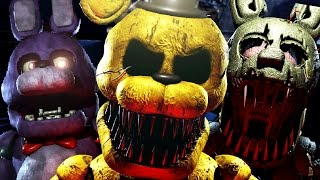 PLAYING AS NIGHTMARE SPRINGTRAP?! | Sinister Turmoil #6 GAMEPLAY Screenshots + Breakdown