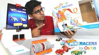 UNBOXING & LETS PLAY! - Osmo Hot Wheels MindRacers Game  - FULL REVIEW!