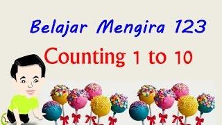Belajar Mengira 123 & Counting Numbers 1 To 10