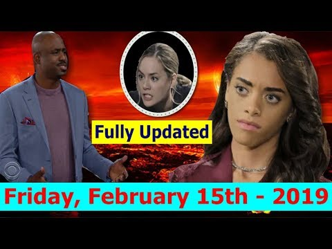 Xxx Mp4 Fully Updated Friday Feb 15th The Bold And The Beautiful Spoilers February 15 2019 3gp Sex