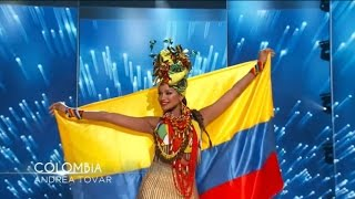 Andrea Tovar Miss Universe National Costume Show 2016 HD