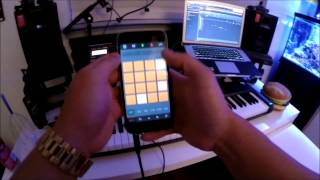 iMaschine - Making a beat on iPhone 6