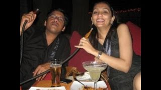 Bangladeshi Dj Night Party Girl Smoking