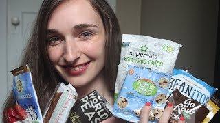 Honest Food Review & Food Tasting  - Vegan Cuts, Binaural Sounds, Unpacking, ASMR