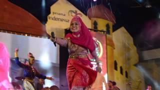 Wooww Keren,, Panglima Prang Live Nyawong- Aceh Internasional Rapai Festifal 2016, 30 Agustus 2016