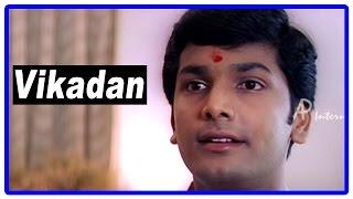 Vikadan Tamil Movie | Scenes | Harish Raghavendra came back home from US