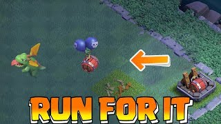 DRAGON OUTRUNS AIR DEFENSE!! | clash of clans | FUNNY ATTACKS!!