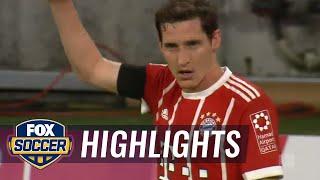 Niklas Süle scores first goal of the season for Bayern Munich    2017-18 Bundesliga Highlights